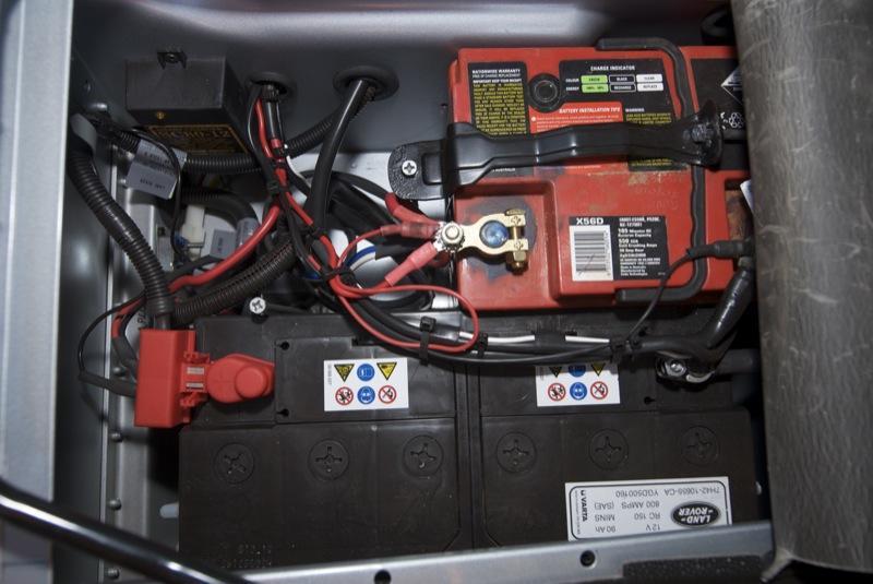 Dual Battery Setup In 08 Defender