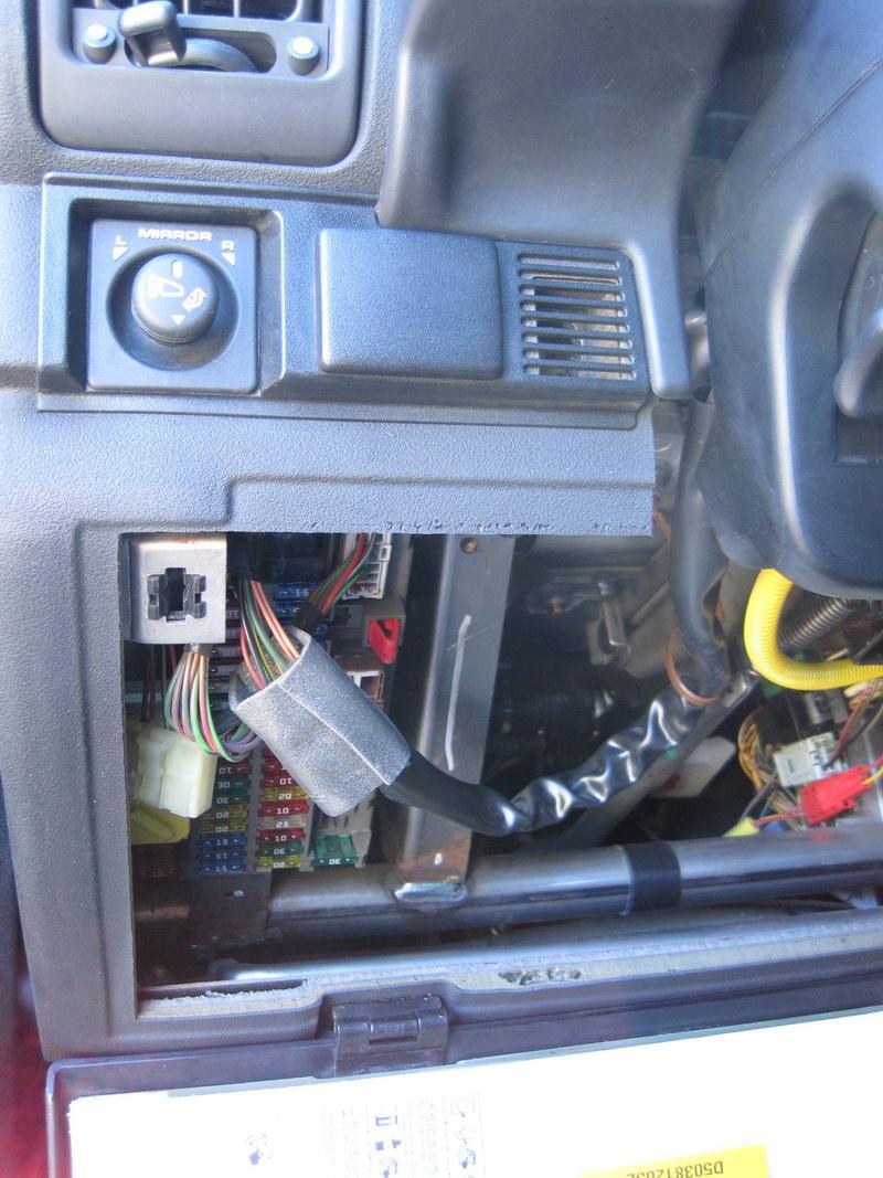 Disco getting rid of whirring noise alongside steering