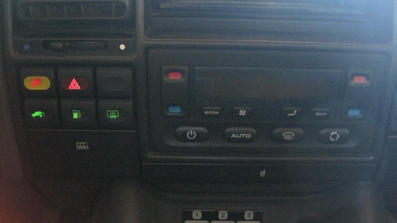 Disco 2 Replacing Dashboard Atc And Digital Clock Bulbs
