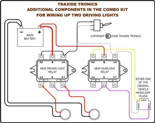some basic drving light wiring questions. Black Bedroom Furniture Sets. Home Design Ideas